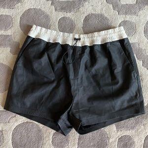 T by Alexander Wang Lamb 🐑 Leather Shorts